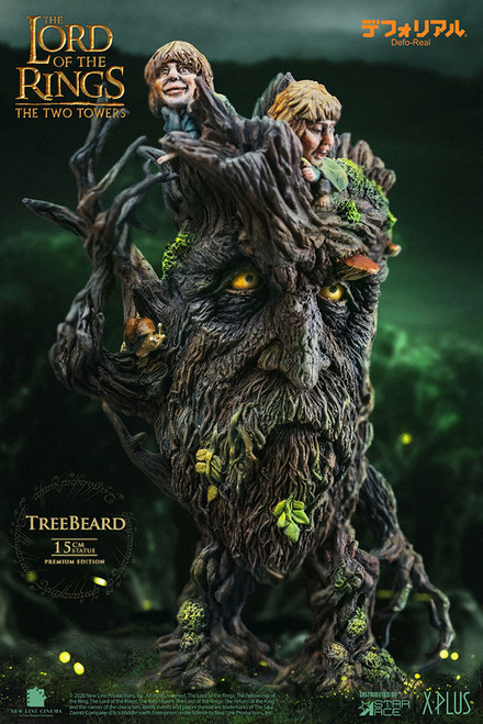 """The Lord of the Rings """"TREEBEARD"""" Statue by Star Ace Toys Ltd. Defo-Real Series"""