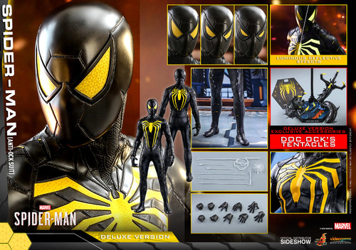 Marvel's SPIDER-MAN (Anti-Ock Suit) Deluxe Sixth Scale 1:6 Figure by Hot Toys VGM45