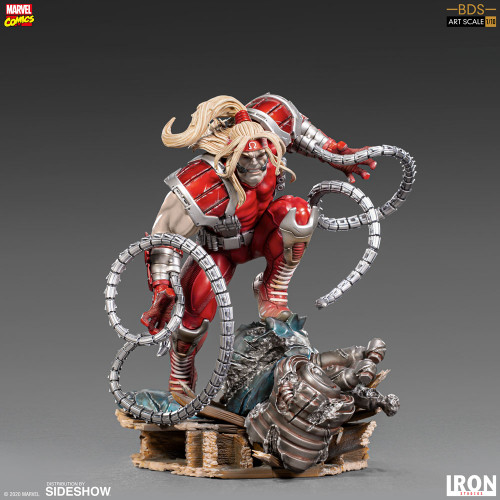 Marvel Comics X-MEN OMEGA RED 1:10 Art Scale BDS Statue by Iron Studios (Limited Ed)