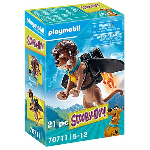 Playmobil SCOOBY-DOO! PILOT Collectible Action Figure No. 70711