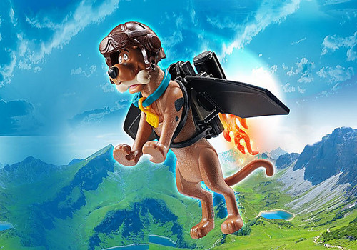 Playmobil SCOOBY-DOO! PILOT Collectible Action Figure