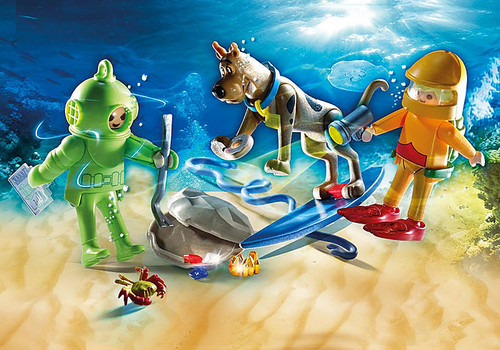 Playmobil SCOOBY-DOO! ADVENTURE WITH GHOST OF CAPTAIN CUTLER Action Figure/Playset (70708)
