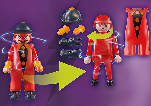 Playmobil SCOOBY-DOO! ADVENTURE WITH GHOST CLOWN Action Figure/Playset