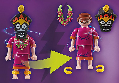 Playmobil SCOOBY-DOO! ADVENTURE WITH WITCH DOCTOR Action Figure/Playset