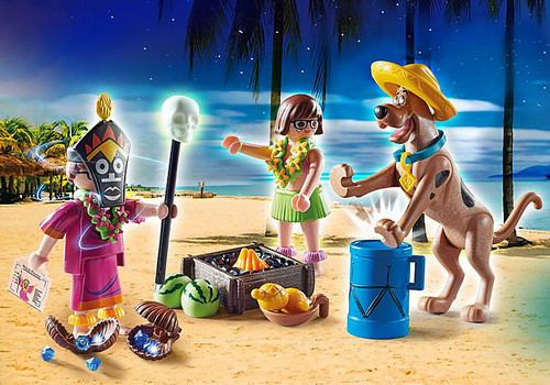 Playmobil SCOOBY-DOO! ADVENTURE WITH WITCH DOCTOR Action Figure/Playset (70707)