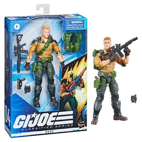 G.I. Joe Classified Series 6-Inch Duke Action Figure - Variant (F5358)