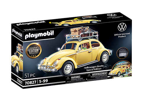 Playmobil Limited Volkswagen Beetle - Special Edition (Yellow VW Bug)