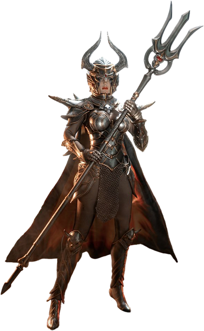 KNIGHT OF FIRE (Silver) Sixth Scale Figure by TBLeague/Phicen
