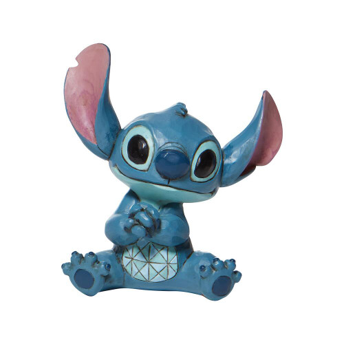 "4"" STITCH Mini Resin Figurine by Jim Shore & Disney Traditions"