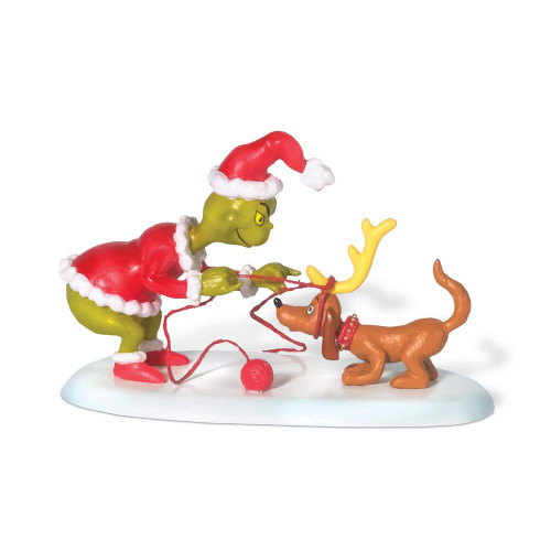 Dr. Seuss ALL I NEED IS A REINDEER How the Grinch Stole Christmas DEPT 56 VILLAGE