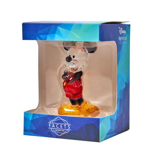 """FACETS by Disney's """"MICKEY MOUSE"""" Gem-Cut Acrylic 4"""" Figurine"""