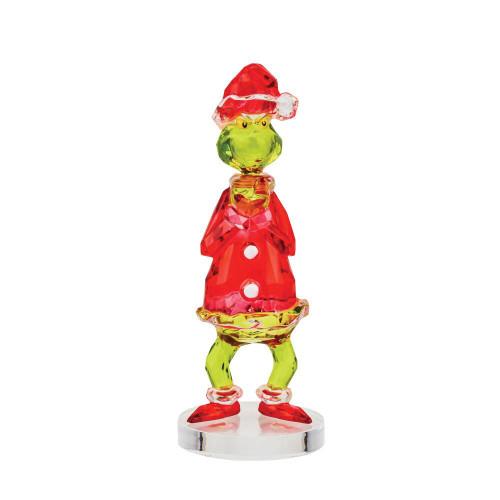 "FACETS How The ""GRINCH"" Stole Christmas Gem-Cut Acrylic 4"" Figurine"
