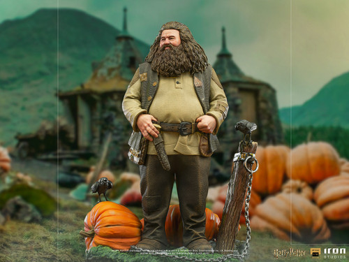 Harry Potter HAGRID DELUXE 1:10 BDS Art Scale Statue by Iron Studios