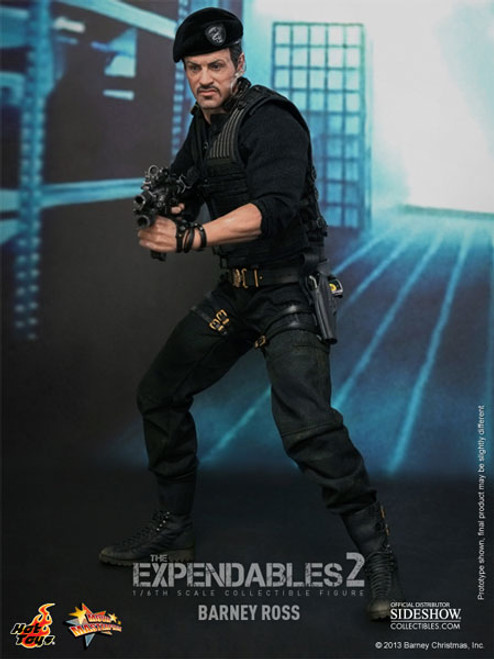 Expendables 2 Barney Ross Limited Sixth Scale Figure by Hot Toys MMS194_901902_NRFB