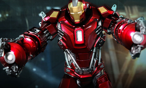 Iron Man Mark XXXV (35) - Red Snapper Limited Hot Toys 1:6 Figure_902042_NRFB