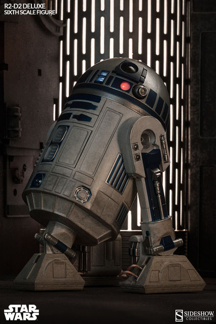 Star Wars EXCLUSIVE R2-D2 Deluxe Sideshow Collectibles Sixth Scale Figure_0021721_NRFB
