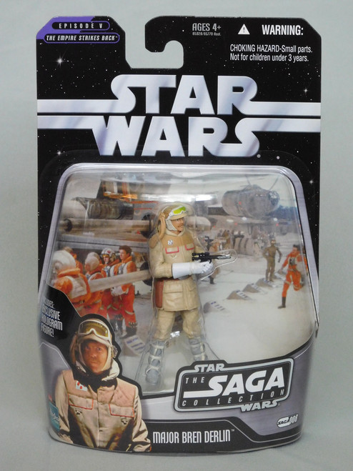 MAJOR BREN DERLIN SAGA 8 Star Wars SAGA COLLECTION: EPISODE V: ESB Hologram_NEW MOC
