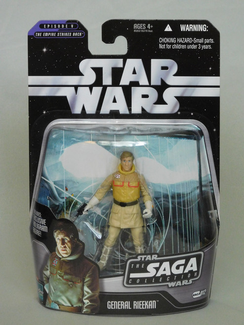 GENERAL RIEEKAN SAGA 12 Star Wars SAGA COLLECTION: EPISODE V: ESB Hologram_NEW MOC