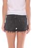 Black 501 Frayed Shorts