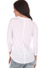 """rear of shirt is all white.  This awesome white Chaser tee features """"Drinking for no good Riesling"""" at front with rounded bottom hemline and the softest material.  True To Size.  Shoulder To Hem Measurement is Approximately 25 inches.  60% Cotton, 40% Polyester.  Machine Wash Cold, Tumble Dry Low."""