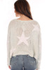 Star Cropped L/S Sweater