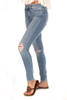 Distressed Icon Ankle Skinny Jeans