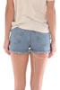 501 Distressed Faded Blue Denim Shorts