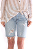 501 Distressed Slouch Denim Shorts