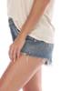 Parker Loose Cut-Off Denim Shorts