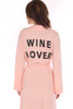 Wine Lover Lightweight Robe