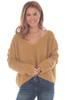 Moonbeam V-Neck Cropped Sweater