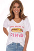 Pink's Hot Dogs Vintage Tee