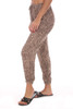 Leopard Drawstring Jogger Pants
