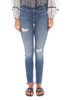 The Charlie Ankle Jean W/ Distressing