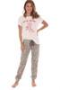Wild Heart Pajama Set