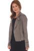 Tabitha Faux Suede Moto Jacket