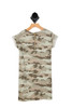 Camo Mini Dress W/ Patches (Big Kid)