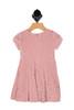 Velvet Polka Dot Dress (Toddler/Little Kid)