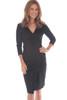 Layette Faux Suede Dress