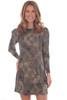Puff Sleeve Swing Mini Dress (+ colors)