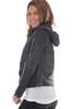 Gabbana Leather Coat W/ Hoodie