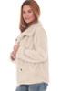 Fleece-Lined Sherpa Coat