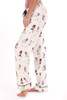 Holiday Pug Flannel PJ Pants