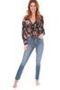 Margot Skinny Jeans W/ Fray Slit