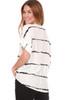 Blurred Stripe Blouse (+ colors)