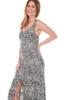 Tank Midi Dress W/ Front Slit
