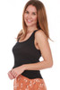 The Textured Rib Fitted Tank (+ colors)