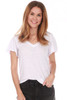 Tri-Blend Flutter V-Neck Tee (+ colors)