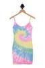 Bodycon Cami Tie Dye Mini Dress