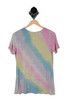 Tie Dye Knotted Tee
